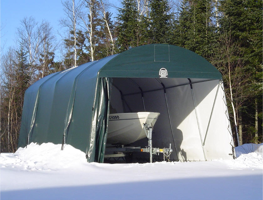 Tarp Shelter Garage : Canvasmart tarps covers shelters heavy duty