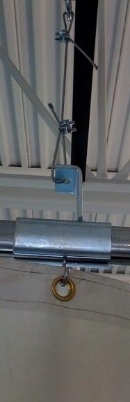 Canvasmart Tarps Amp Covers Divider Washbay Amp Roll