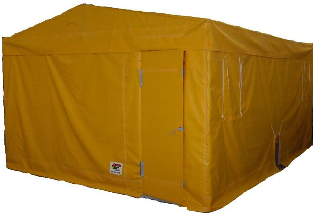 Canvasmart Tarps Amp Covers Shelters Custom Shelter Cover