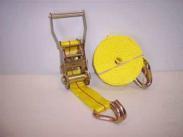 "2"" x 25' strap with ratchet"
