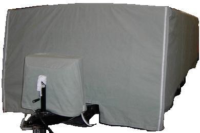RV storage cover