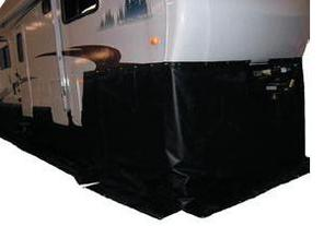 Uninsulated RV skirt